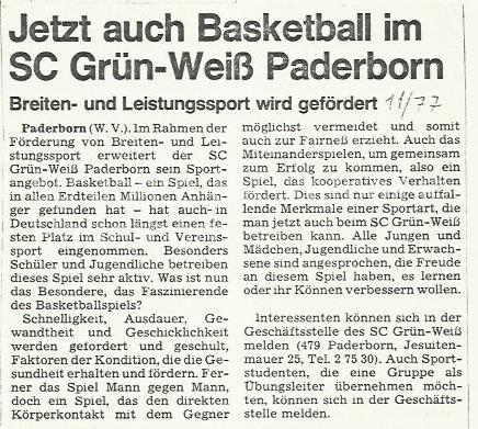 1977_Grün-Weiß-spielt-Basketball