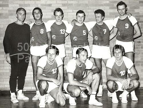 1970: Die erste Basketballmannschaft in der Geschichte des VBC 69 Paderborn